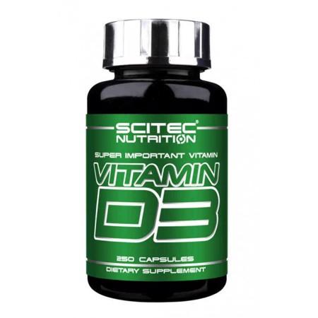 Vitamin D3, 250 kapseln