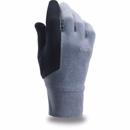 UA NoBreaks Armour Liner Gloves, Gray