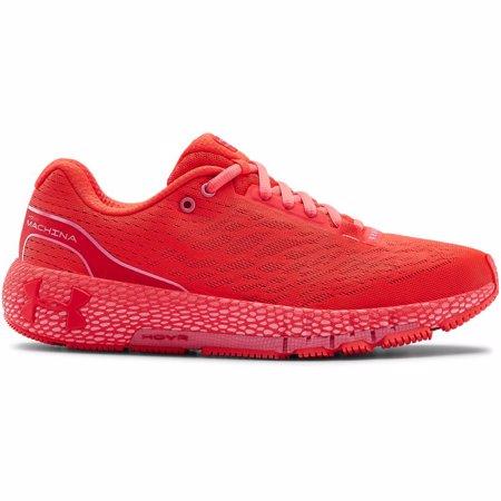 UA HOVR Machina Women's Neutral Running Shoes, Red