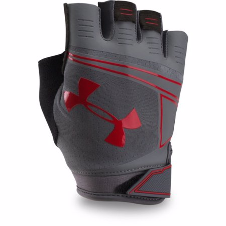 UA CoolSwitch Flux Training Gloves, Graphite/Red
