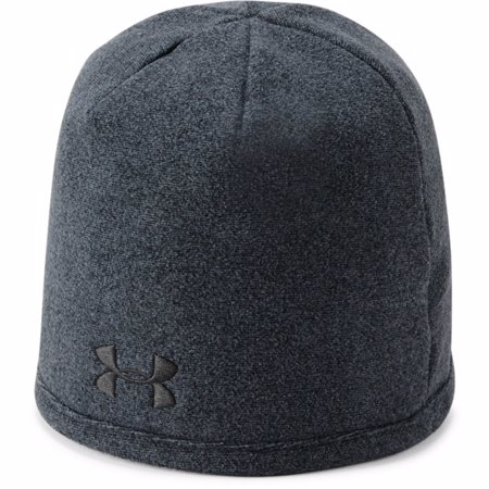 UA ColdGear Infrared Fleece Beanie, Black/Black