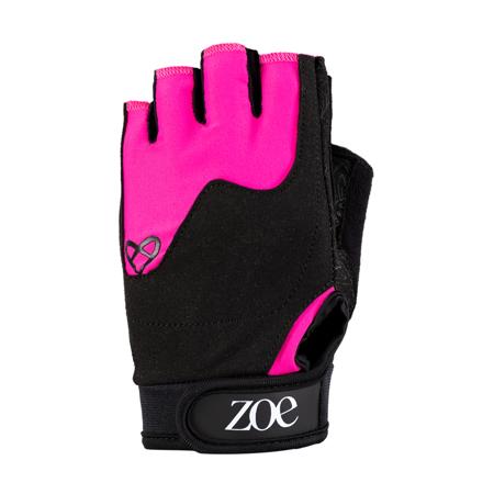 Zoe Essentials Fitness Gloves, Pink Nude