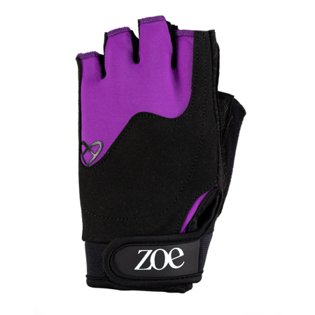 Zoe Essentials Fitness Gloves, Purple