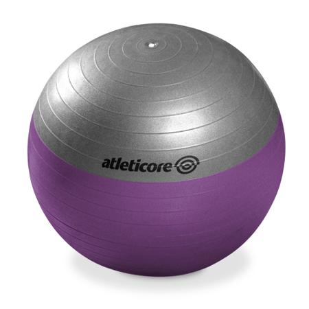Žoga za pilates s črpalko, 55 cm