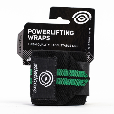 Powerlifting Wraps, Black