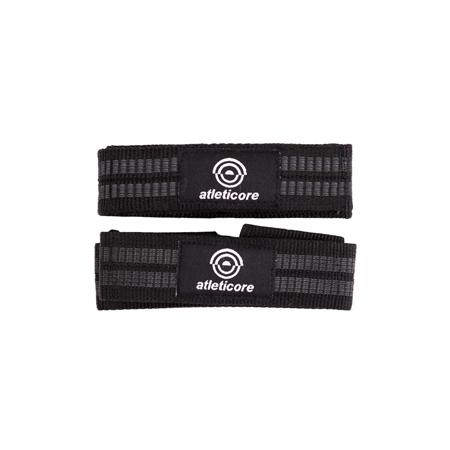 Core XT Lifting Straps, Black, One Size