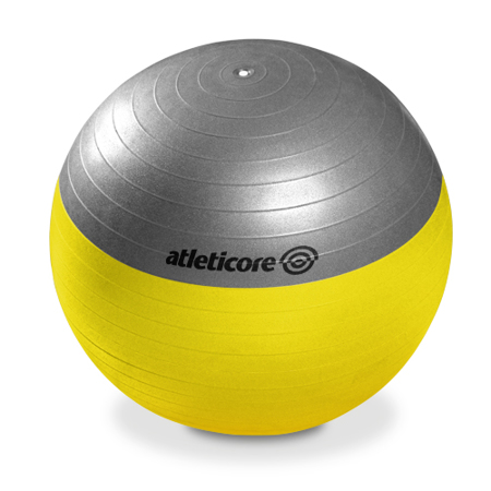 Pilatesball 65cm, mit Pumpe