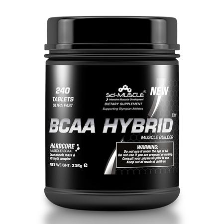 BCAA Hybrid, 240 tabletten