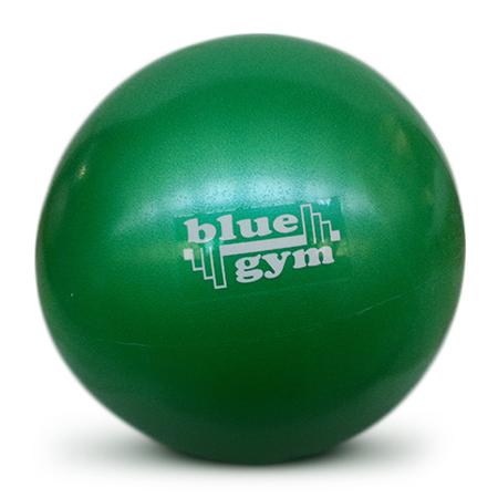 Pilates lopta, soft ball, 26 cm, zelena