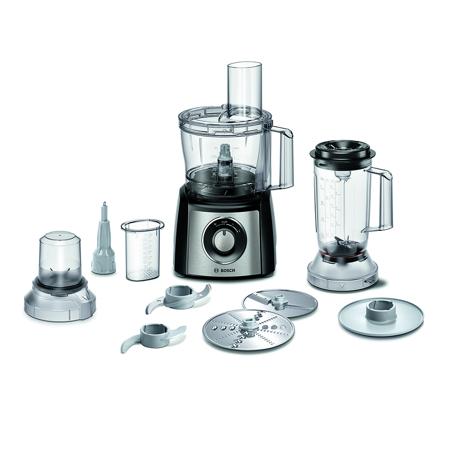 Kuhinjski aparat, MultiTalent 3, 800 W, Black/Steel