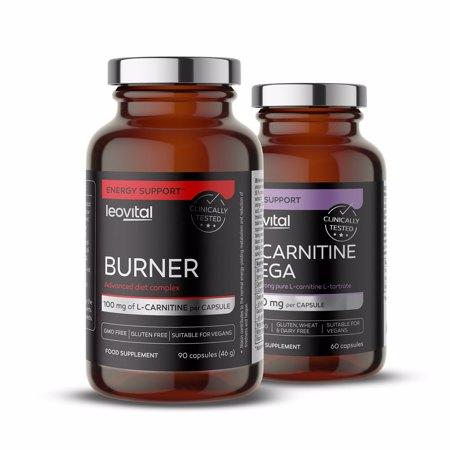 Burner, 90 Kapseln + L-Carnitin Mega, 60 Kapseln GRATIS