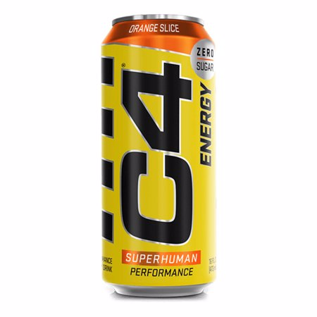 C4 Energy RTD, Carbonated, 500 ml
