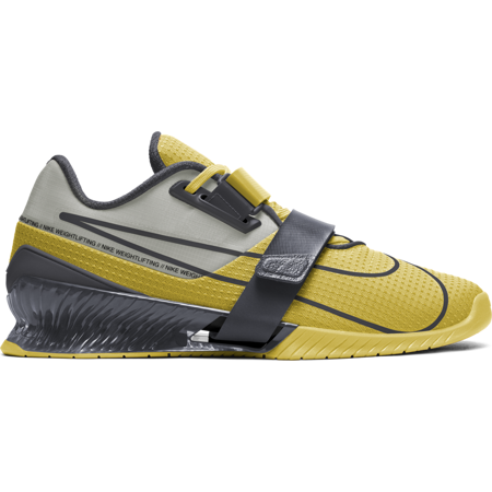 Nike Romaleos 4 Weightlifting Shoe, Bright Citron/Smoke Grey/Grey Fog