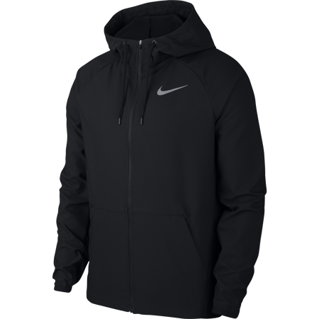 Nike Flex Full Zip Jacket, Black/Dark Grey
