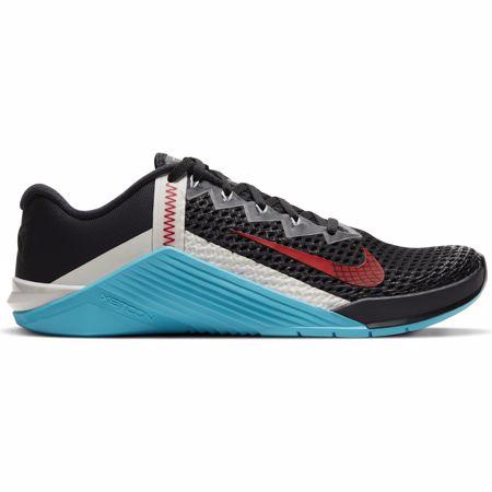 Nike Metcon 6 Training Shoes, Black/University Red/Blue Fury