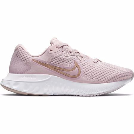 Nike Renew Run 2 Women's Shoes, Champagne/White/Metallic Red Bronze