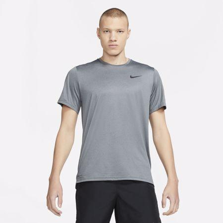 Nike Pro Dri-Fit SS Shirt, Black/Dark Smoke Grey