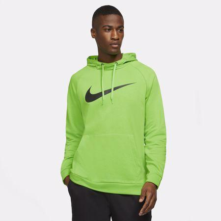 Nike Dri-Fit Swoosh Hoodie, Green/Black