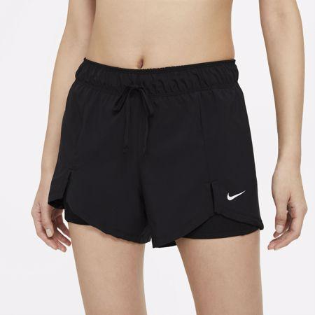 Nike Flex Essential 2 in 1 Women's Shorts, Black/White