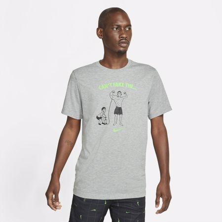 Nike Dri-Fit 'Can't Fake It' T-Shirt, Dark Grey