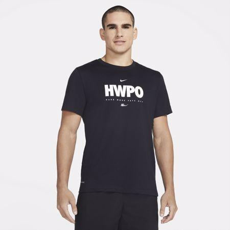 Nike Dri-Fit HWPO Short Sleeve Shirt, Black