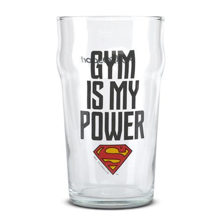 Staklena čaša, Superman - Gym Is My Power