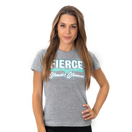 Hero Core Woman T-Shirt, Wonder Woman Fierce
