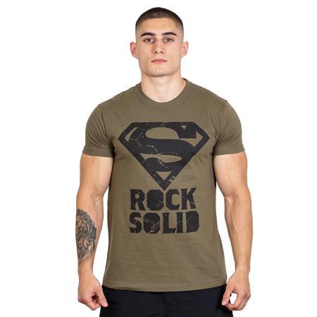 Hero Core T-shirt, Superman, Superman Rock Solid