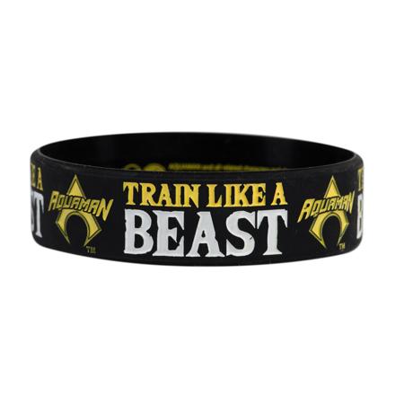 DC Aquaman, Train like a Beast, Motivationsarmband