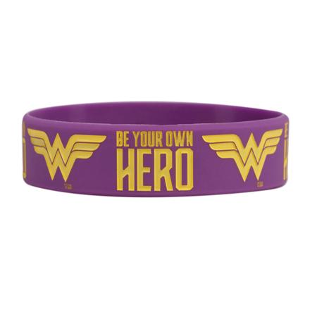 DC Wonder Woman, Be Your Own Hero, Motivationsarmband
