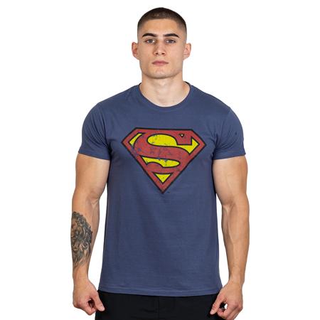 Hero Core T-shirt, Superman Vintage Logo