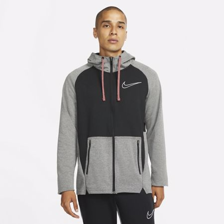 Nike Therma-Fit Training Jacket, Black/Heather/White