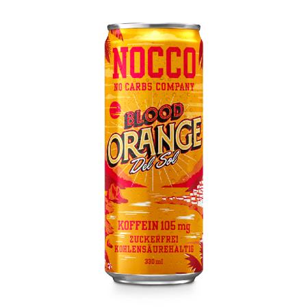 NOCCO BCAA Blood Orange Del Sol, 330 ml