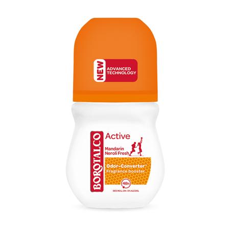 Deo Roll-On Active, Mandarin/Neroli, 50 ml