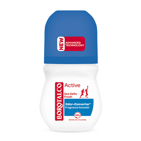 Deo Roll-On Active, Sea Salts, 50 ml