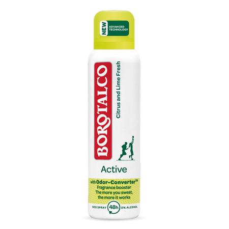 Deo Spray Active, Citrus/Lime, 150 ml