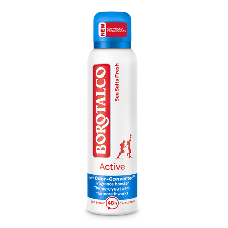 Deo Spray Active, Sea Salts, 150 ml