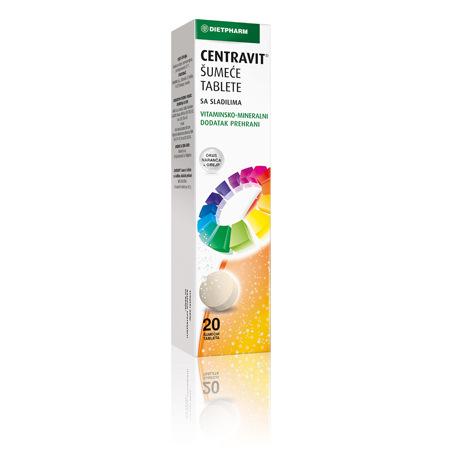 Centravit, 20 šumećih tableta