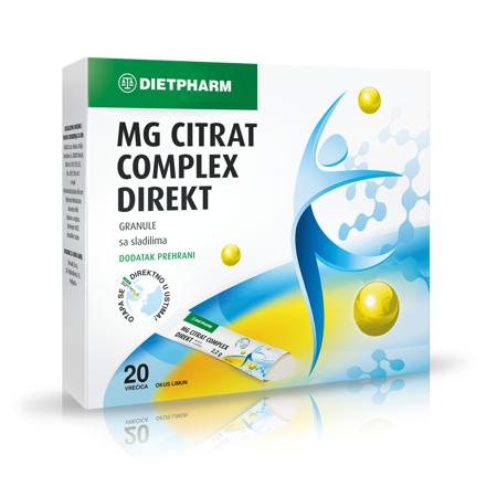 Magnezij Citrat Complex Direkt Granule, 20 vrećica