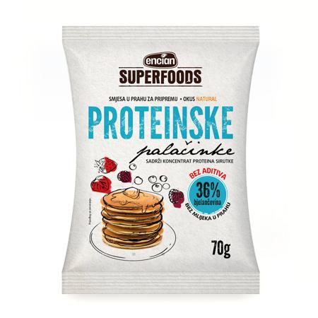 Proteinske palačinke mix, 70 g