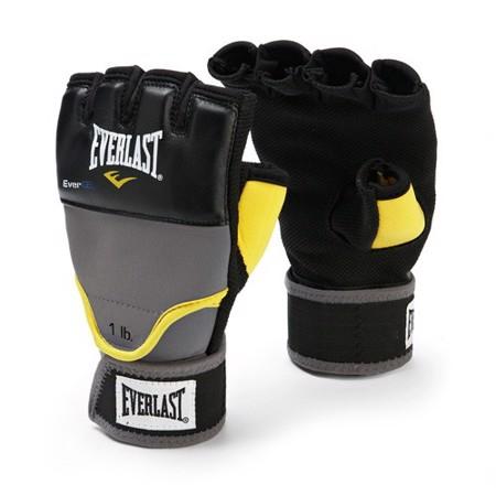 Evergel Weighted Hand Wraps rokavice, siva/črna