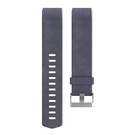 Fitbit Charge 2, Leather Band, Indigo