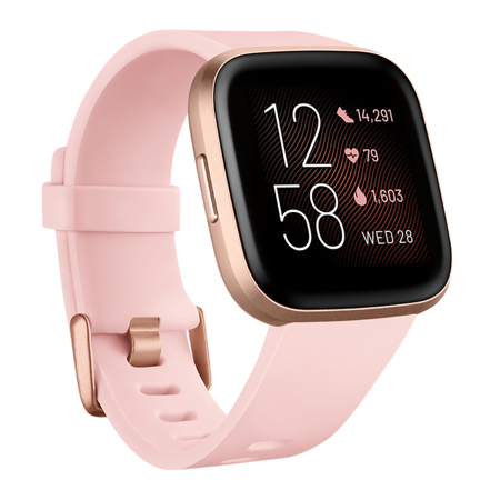 Fitbit Versa 2, Petal/Copper Rose Aluminum