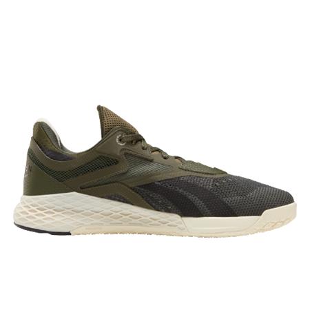 Reebok Nano X Shoes, Poplar Green/Black/Alabaster
