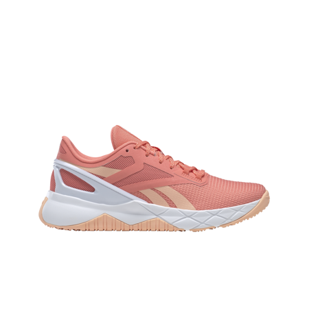 Reebok NanoFlex TR Women's Shoes, Twisted Pink/Aura Orange/White