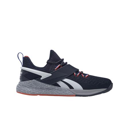 Reebok Nano X Froning Shoes, Navy/Cloud White
