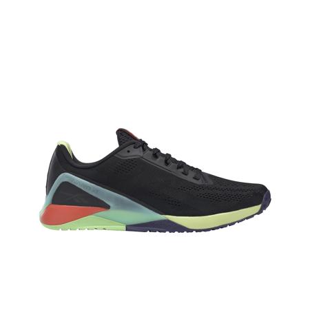 Reebok Nano X1 Shoes, Night Black/Digital Glow