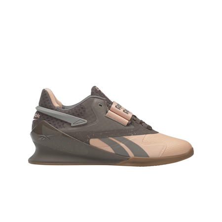Reebok Legacy Women's Lifter II Shoes, Aura Orange/Boulder Grey