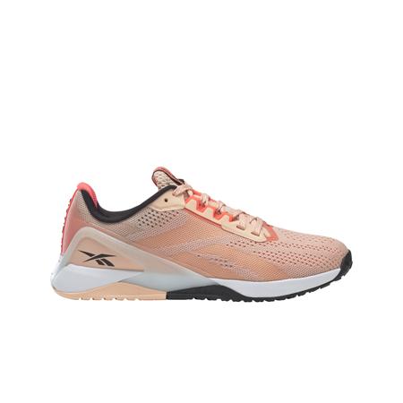 Reebok Nano X1 Women's Shoes, Aura Orange/Twisted Pink/Black