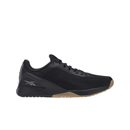 Reebok Nano X1 Shoes, Black/Night Black/Rubber Gum